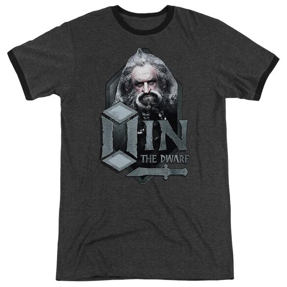 The Hobbit Oin Adult Heather Ringer Charcoal
