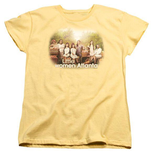 Little Women Atlanta Key Art Short Sleeve Womens Tee T-Shirt