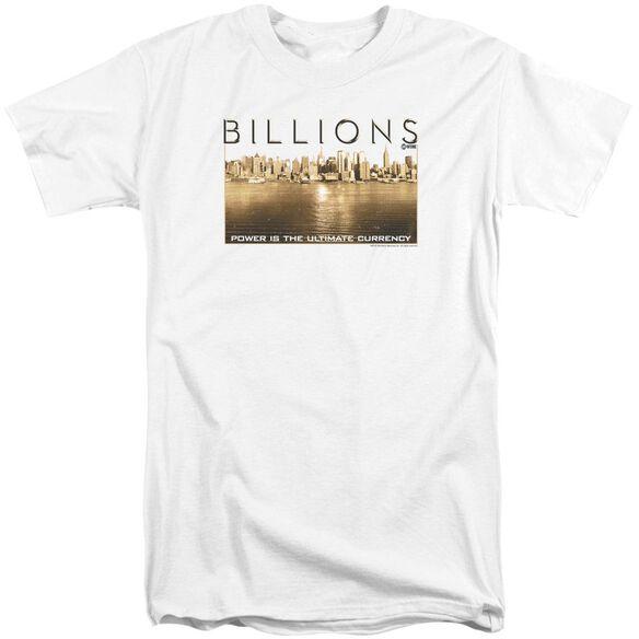 Billions Golden City Short Sleeve Adult Tall T-Shirt