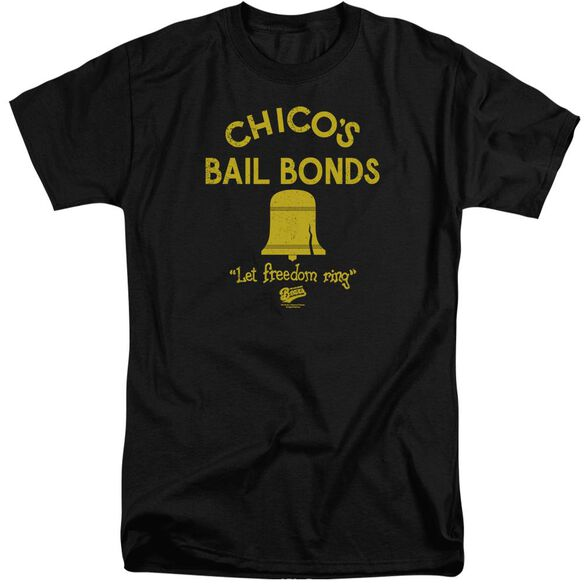 Bad News Bears Chico's Bail Bonds Short Sleeve Adult Tall T-Shirt