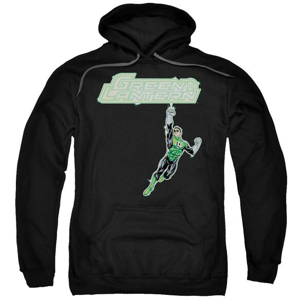 Green Lantern Energy Construct Logo Adult Pull Over Hoodie
