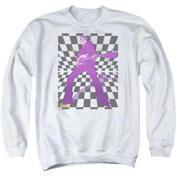 Elvis Let's Rock Adult Crewneck Sweatshirt