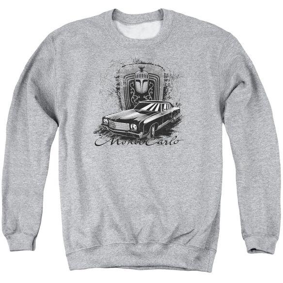 Chevrolet Monte Carlo Drawing Adult Crewneck Sweatshirt Athletic