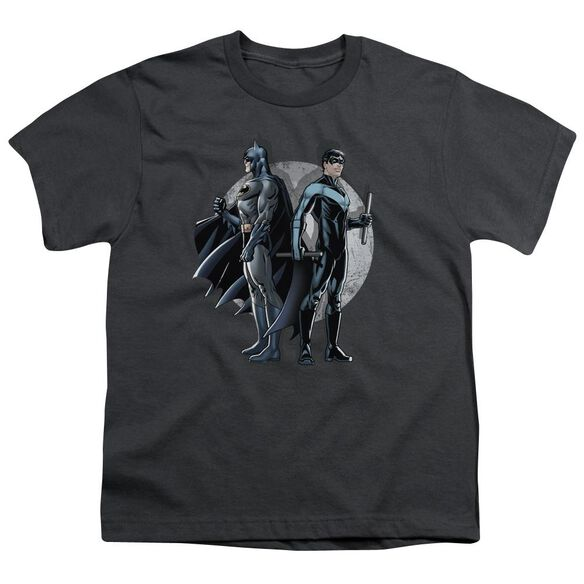 BATMAN SPOTLIGHT - S/S YOUTH 18/1 - CHARCOAL T-Shirt