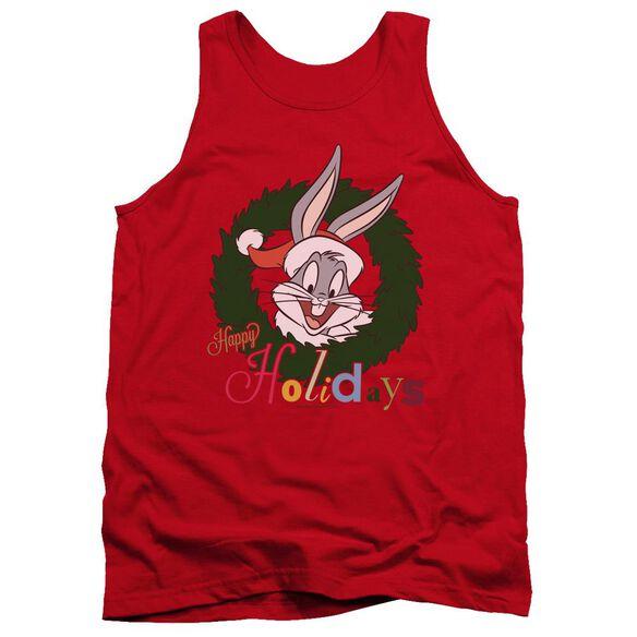 Looney Tunes Holiday Bunny Adult Tank