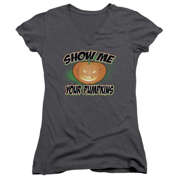 Show Me Junior V Neck T-Shirt