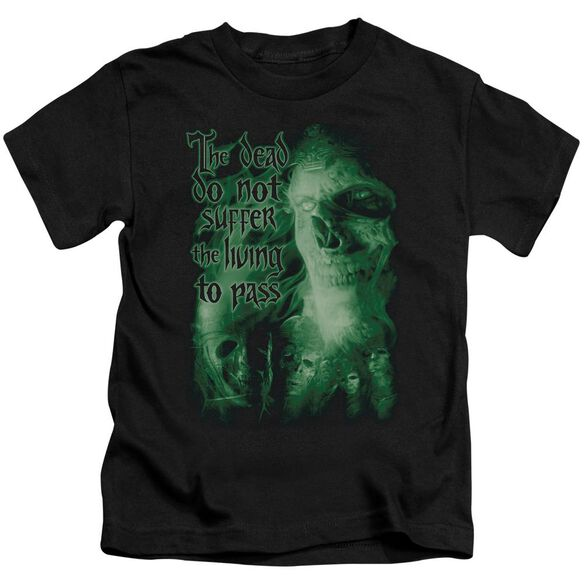 Lor King Of The Dead Short Sleeve Juvenile Black Md T-Shirt