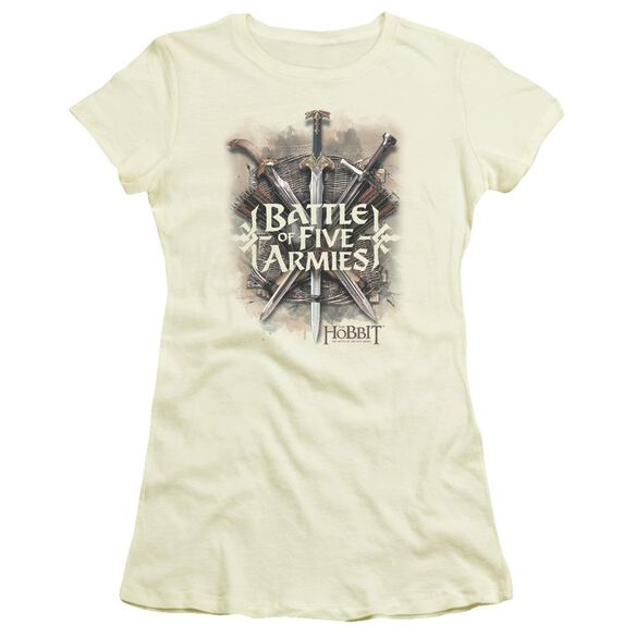 Hobbit Battle Of Armies Short Sleeve Junior Sheer T-Shirt