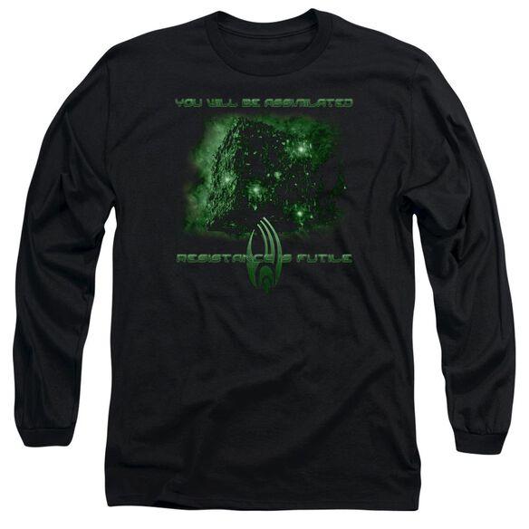 Star Trek Assimilate Long Sleeve Adult T-Shirt
