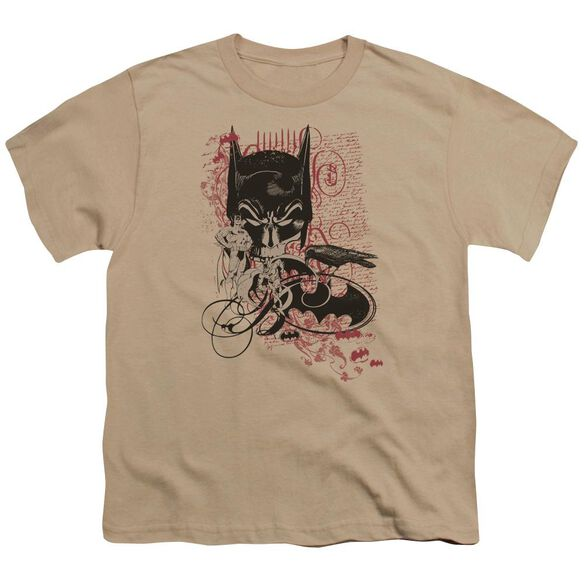 Batman Heroic To The Bone Short Sleeve Youth T-Shirt