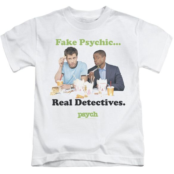 Psych Take Out Short Sleeve Juvenile T-Shirt