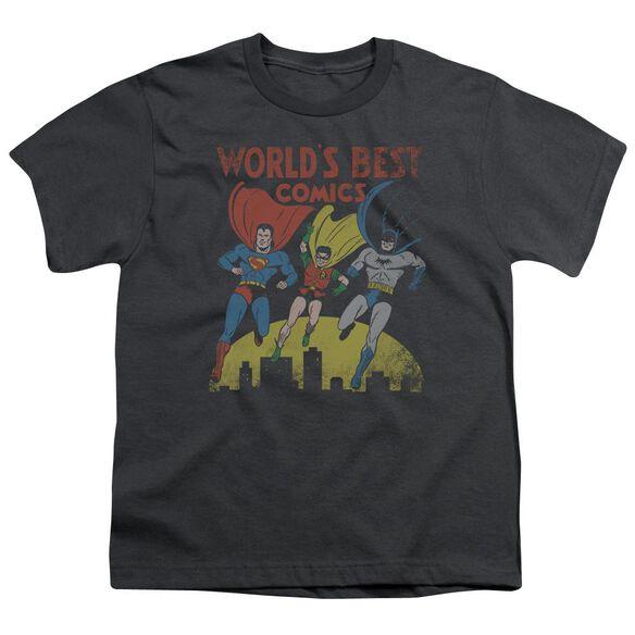 Jla World's Best Short Sleeve Youth T-Shirt