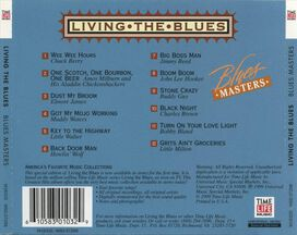 Various Artists - Living the Blues: Blues Masters