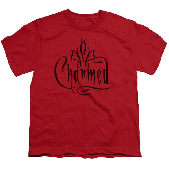 Charmed Charmed Logo Short Sleeve Youth T-Shirt