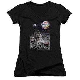 Moon Pie The Truth Junior V Neck T-Shirt