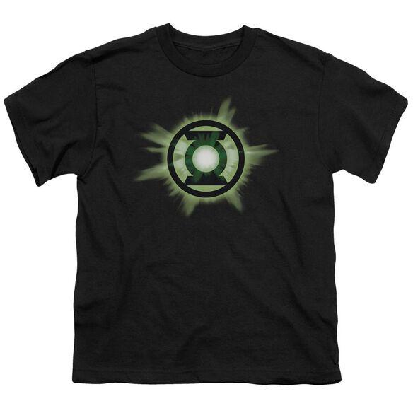 Green Lantern Green Glow Short Sleeve Youth T-Shirt