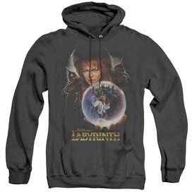 LABYRINTH I HAVE A GIFT - ADULT HEATHER HOODIE