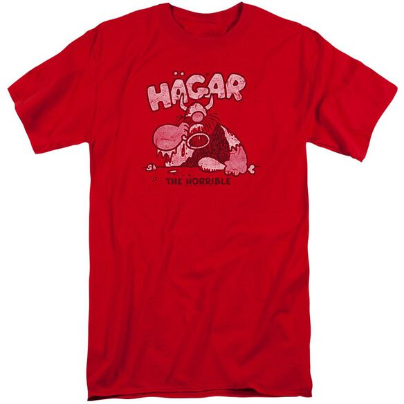 Hagar The Horrible Hagar Gulp Short Sleeve Adult Tall T-Shirt