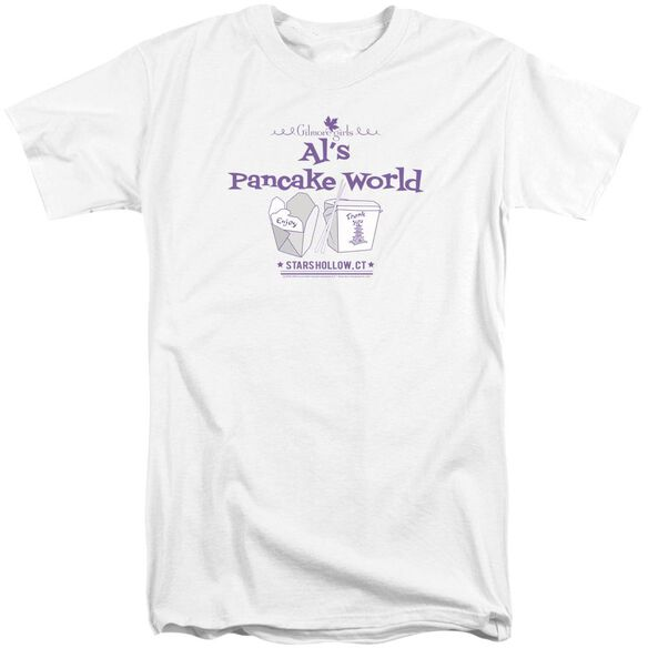 Gilmore Girls Al's Pancake World Short Sleeve Adult Tall T-Shirt