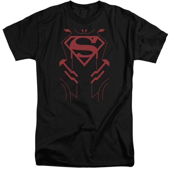 Jla Superboy Short Sleeve Adult Tall T-Shirt
