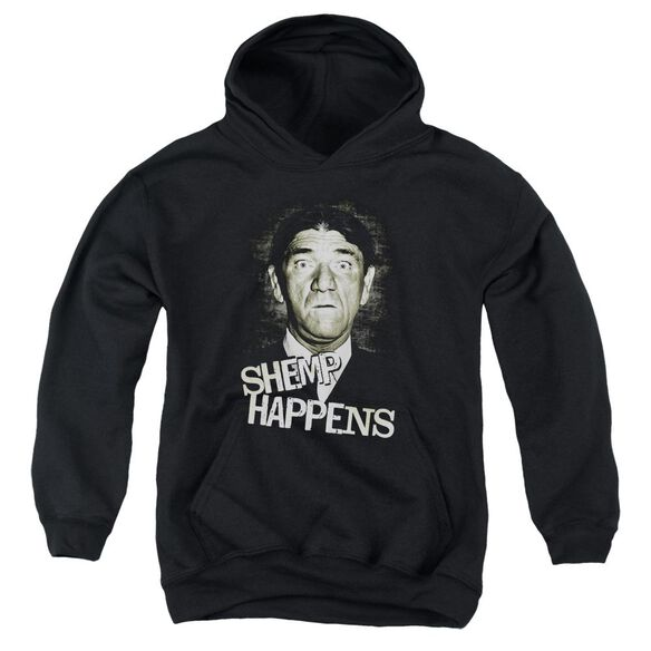 Three Stooges Shemp Happens Youth Pull Over Hoodie