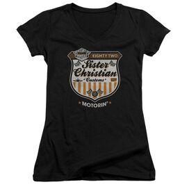 Night Ranger Motorin Junior V Neck T-Shirt