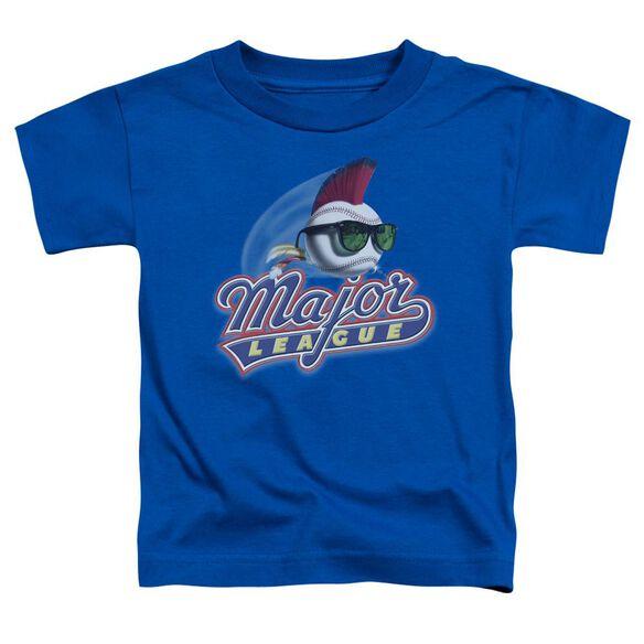 Major League Title Short Sleeve Toddler Tee Royal Blue Sm T-Shirt