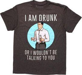 Archer Drunk Talking T-Shirt