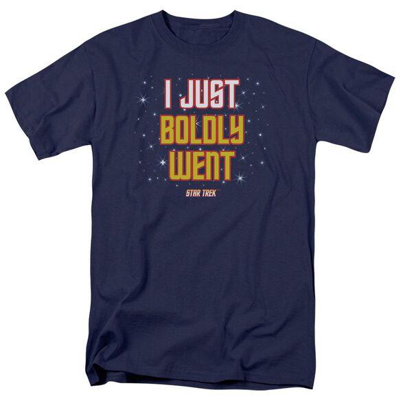 Star Trek Boldly Went Short Sleeve Adult T-Shirt
