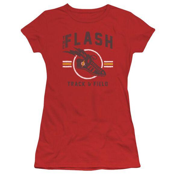 Jla Track And Field Short Sleeve Junior Sheer T-Shirt