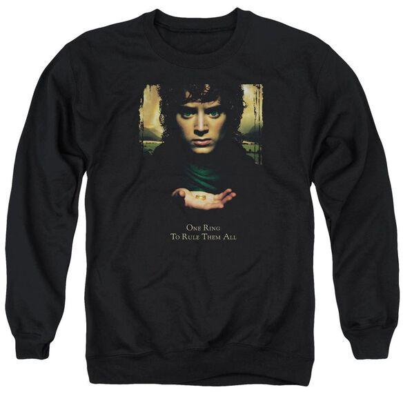 Lor Frodo One Ring Adult Crewneck Sweatshirt