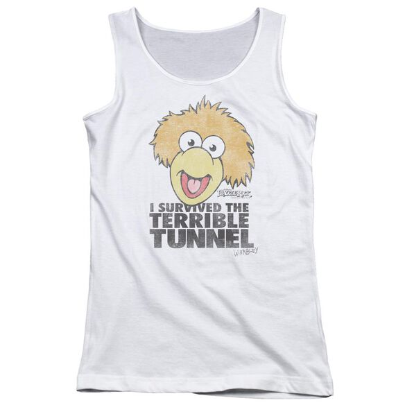 Fraggle Rock Terrible Tunnel Juniors Tank Top