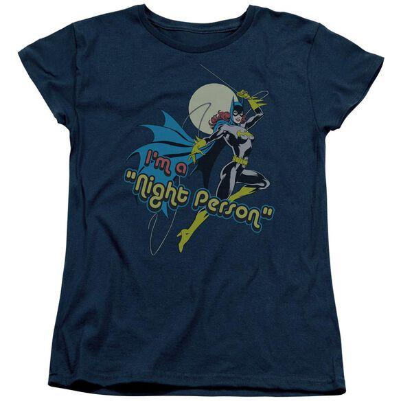 Dc Night Person Short Sleeve Womens Tee T-Shirt
