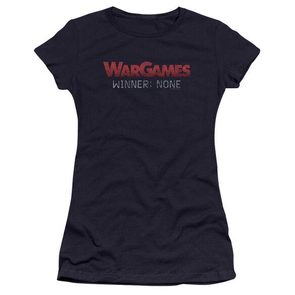 Wargames No Winners Premium Bella Junior Sheer Jersey