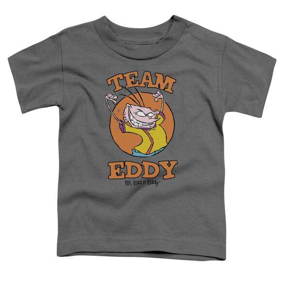 Ed Edd N Eddy Team Eddy Short Sleeve Toddler Tee Charcoal T-Shirt