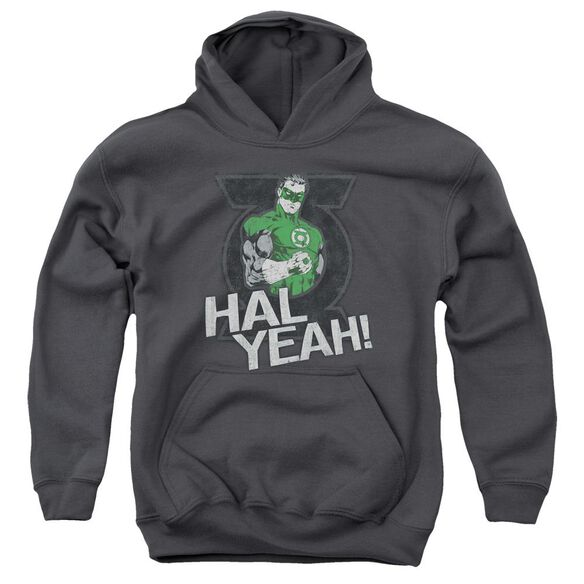 Green Lantern Hal Yeah Youth Pull Over Hoodie