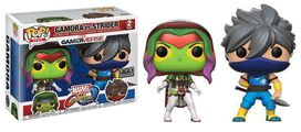 Funko Pop!: Marvel vs Capcom Infinite - Gamora vs Strider (White & Blonde) 2 PK