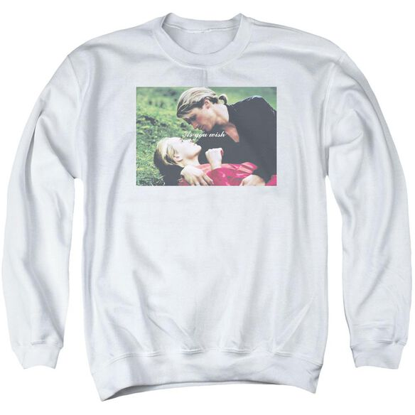 Princess Bride As You Wish Adult Crewneck Sweatshirt