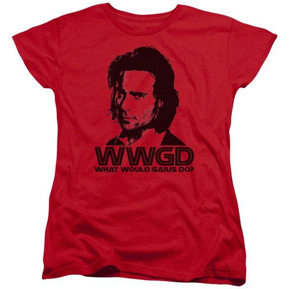 BSG WWGD - S/S WOMENS TEE - RED T-Shirt