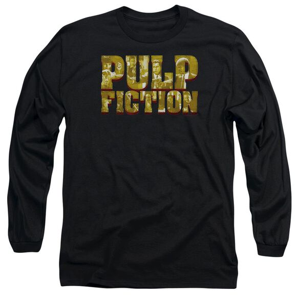 Pulp Fiction Pulp Logo Long Sleeve Adult T-Shirt