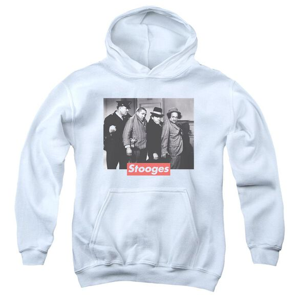 Three Stooges Supreme Rip Youth Pull Over Hoodie