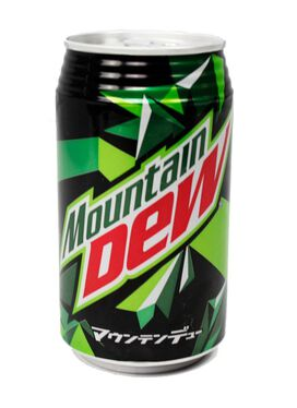 Mountain Dew Citrus - [From Japan]