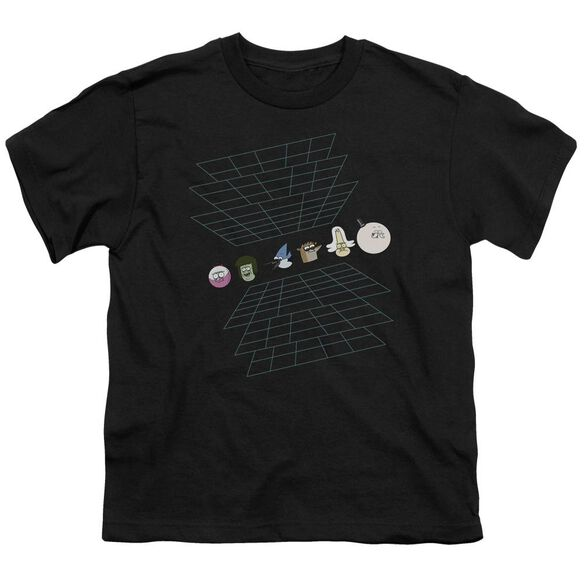The Regular Show Regular Grid Short Sleeve Youth T-Shirt
