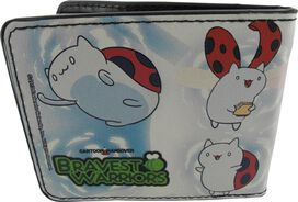 Bravest Warriors Catbug Poses Wallet