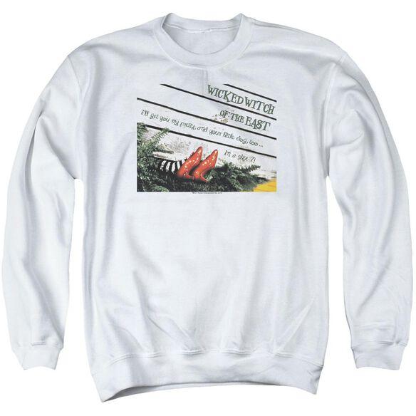 Wizard Of Oz Size 7 Adult Crewneck Sweatshirt