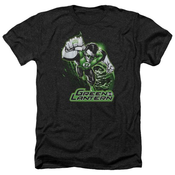 Jla Green Lantern Green & Gray Adult Heather