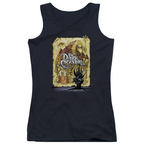 Dark Crystal Poster Juniors Tank Top