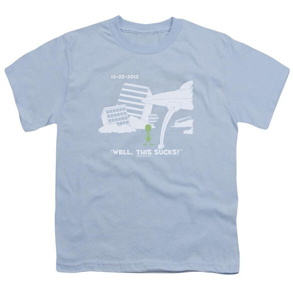 Late To The Party Short Sleeve Youth Light T-Shirt