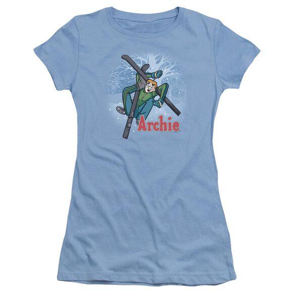Archie Comics Bunny Hill Short Sleeve Junior Sheer Carolina T-Shirt