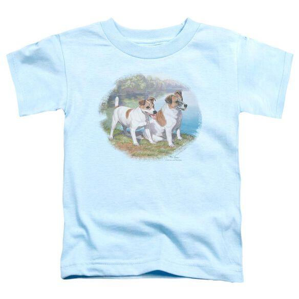 Wildlife Jack By Water Short Sleeve Toddler Tee Light Blue T-Shirt